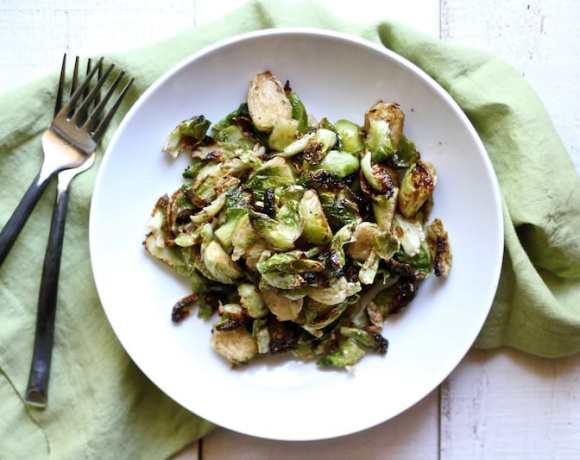 CRISPY BRUSSEL SPROUTS RECIPE