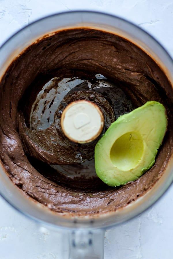 Avocados in healthy homemade nutella
