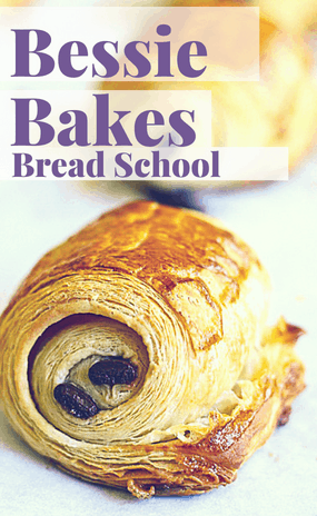 Bessie Bakes Bread School widget croissant video course