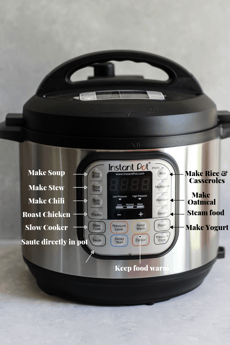 Instant Pot benefits and functions