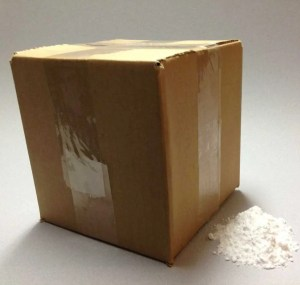 Box with small Preservative pile