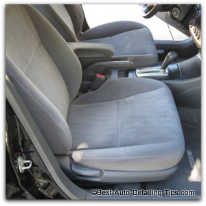 Best way to clean car interior cloth seats - How to clean car interior fabric ...