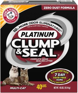 ARM & HAMMER Platinum Clump & Seal Platinum Cat Litter