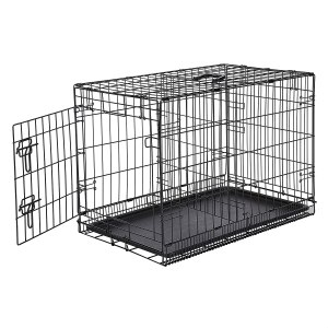AmazonBasics Folding Metal Pet Crate