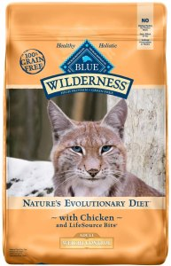 Blue Buffalo Wilderness Natural Dry Cat Food