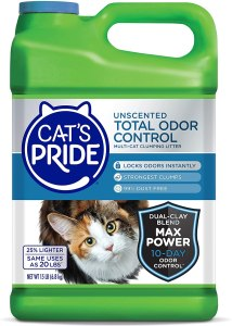 Cat's Pride Total Odor Control Clumping Cat Litter