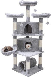 "Hey-brother 65"" Extra Large Multi-Level Cat Tree"
