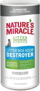 Nature's Miracle Litter Deodorizing Powder