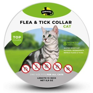 SOBAKEN Flea & Tick Collar Best Flea Collar