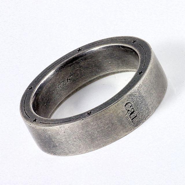 NEU cai men HerrenRing Silber 925 vintageoxidized C4032R900061 11990  eBay