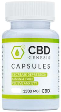 Genesis CBD Capsules