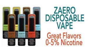 Zaero Disposable Vape Featured Image 2020