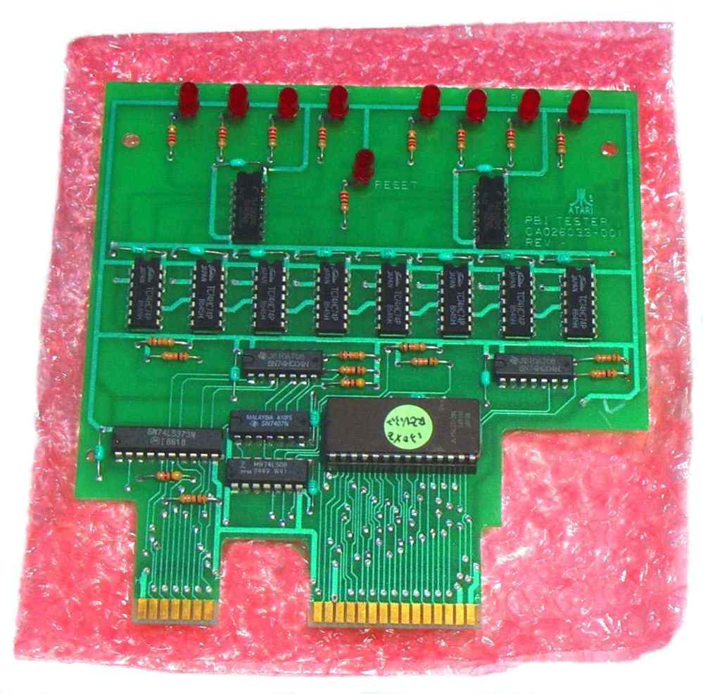 medium resolution of atari service center 130xe plug in diagnostic test board plugs into the 130xe cartridge and expansion ports and 130xe buss line s status indicator only