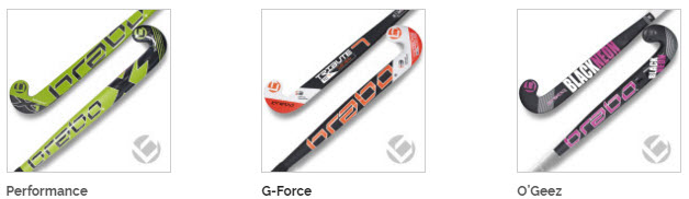 Brabo Junior field hockey stick range
