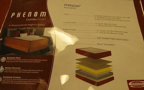 simmons memory foam mattress comforpedic
