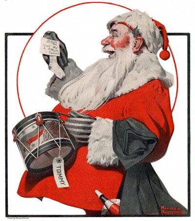 Norman Rockwell, Santa Claus