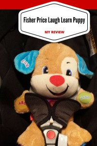 fisher price laugh learn puppy