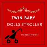 Twin Baby Dolls Stroller -Perfect Christmas Gift