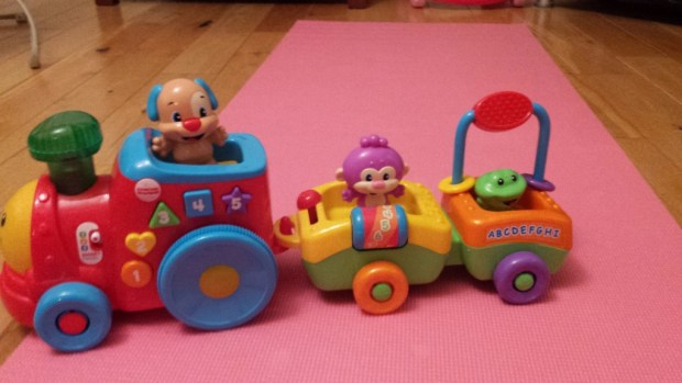 Fisher Price Laugh Learn Smart Stages Puppy Smart Train