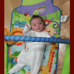 Fisher Price Kick Play Gym is fun workout for baby