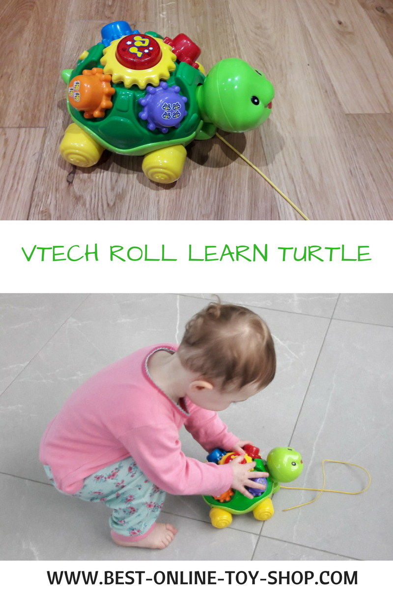 Toys For Toddlers : Vtech pull along turtle fab toys for toddlers