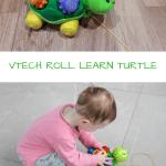 VTECH PULL ALONG TURTLE