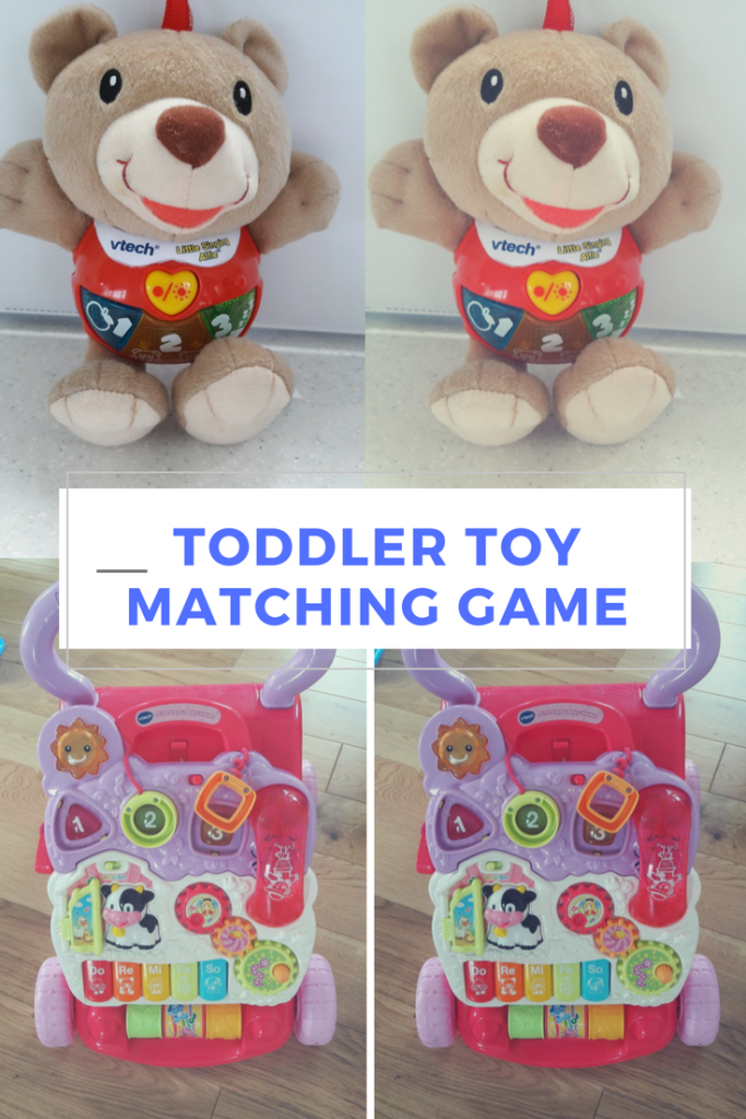 Preschool Toys And Games : Fun free toddler matching game with toys