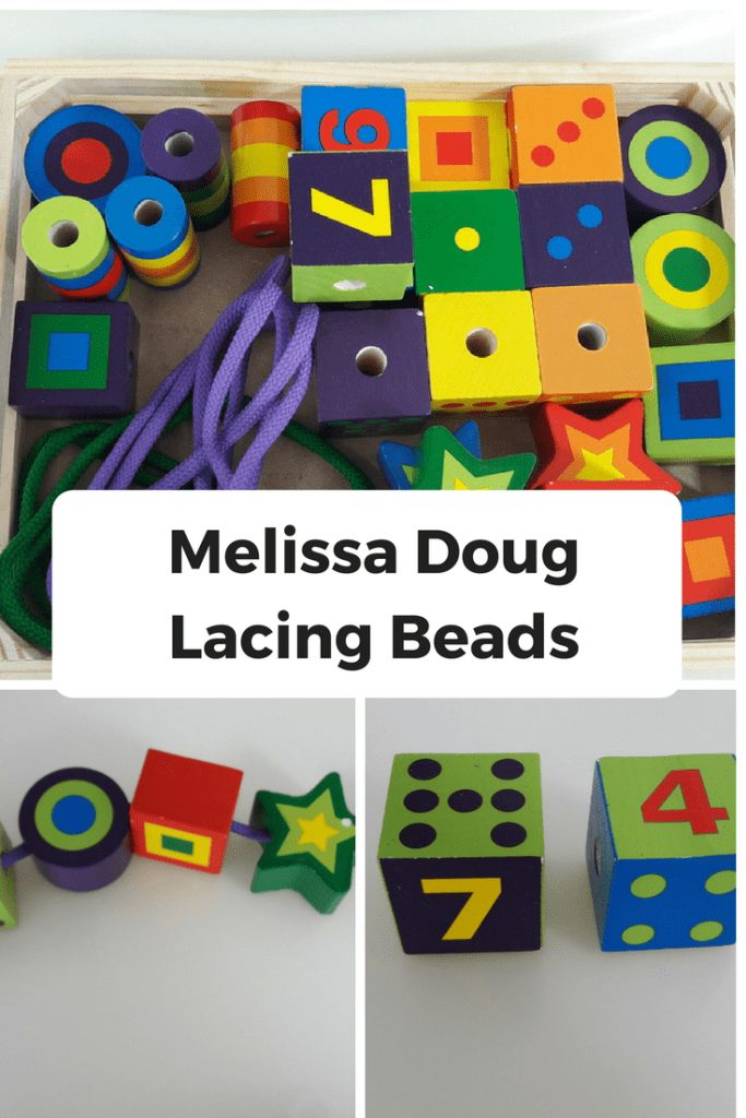 Melissa Doug Lacing Beads – Best Toddler Learning Toy