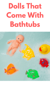 dolls with bathtub best toys for 3 year old girl