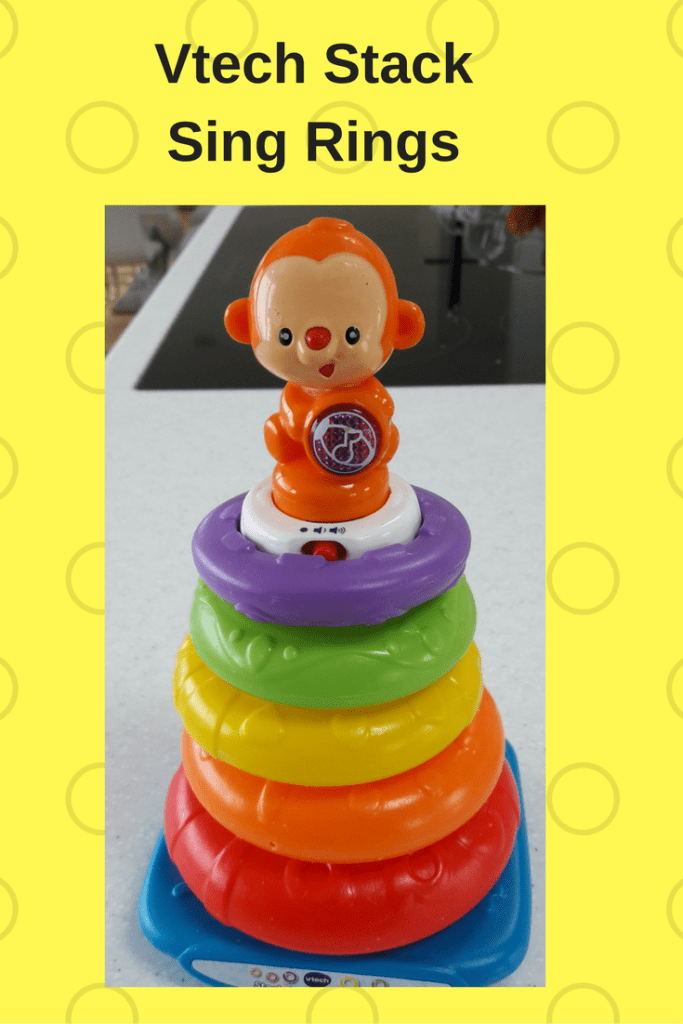 Vtech Stack Sing Rings – Musical Monkey Encourages Stacking!