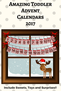 advent calendars for toddlers