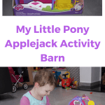 my little pony applejack activity barn