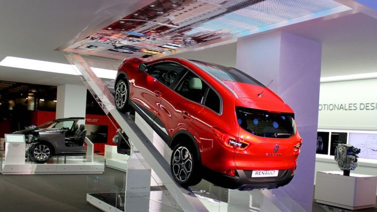 Renault Kadjar at Geneva Auto Salon 2015