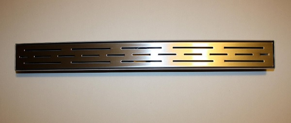 Stainless Steel Linear Shower Drain with Grate