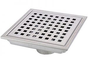HANEBATH Square Stainless Steel  Shower Floor Drainage system with Removal Grate Reviews