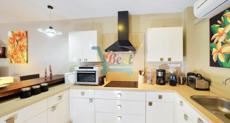 Bel Azur Beach Penthouse Kitchen