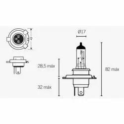 AMPOULE projecteur HB3 OSRAM Culot P20D