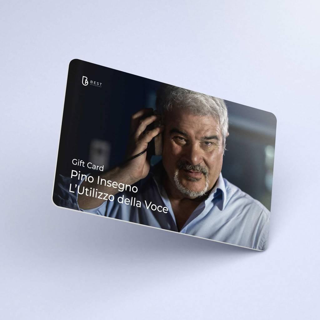 Pino Insegno Utilizzo-della Voce Gift Card