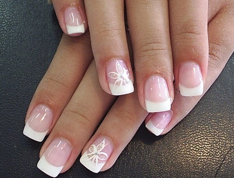 Simple Strong Acrylic Nail Design