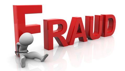 arrest on suspicion of fraud