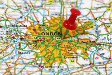 Loss of house price momentum in London