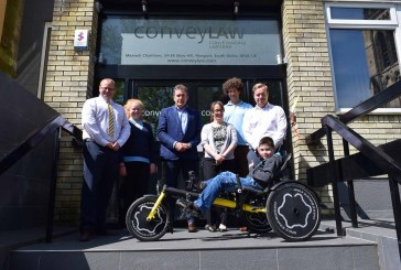 Conveyancers help 11-year old with special trike