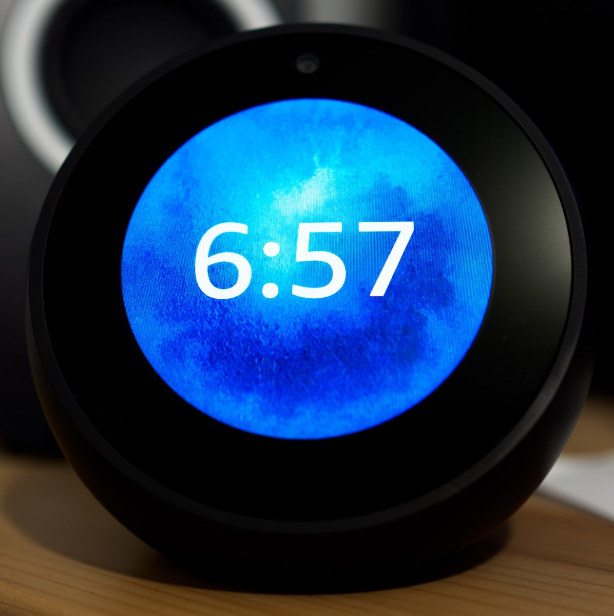 Looking at the Amazon Echo Spot