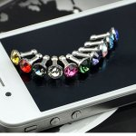 100PCS-Universal-3-5mm-Diamond-Dust-Plug-Mobile-Phone-accessories-Gadgets-Earphone-Plugs-Shining-Bling-Cap