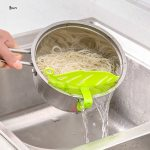 Sale-Kitchen-Gadgets-Rice-Wash-Filter-Baffle-Home-Decoration-Accessories-Leaf-Shaped-Rice-Cleaning-Filter-Kitchen-2