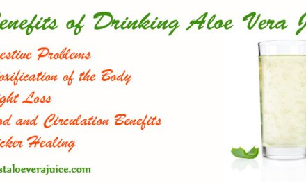 5 benefits of drinking Aloe Vera Juice