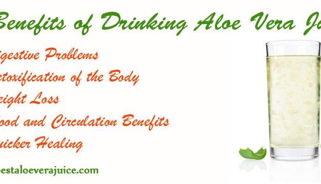 5 benefits of drinking Aloe Vera Juice