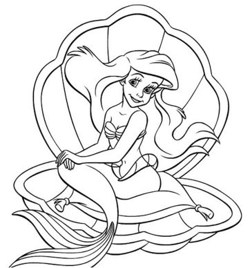 coloring-princess-ariel
