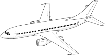 airplane-coloring-pages