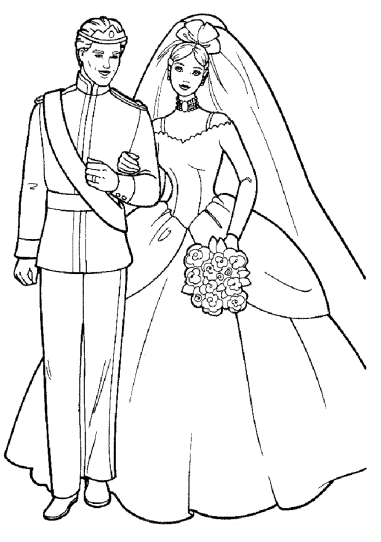 barbie-and-ken-coloring-pages